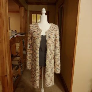 Solitare. Silky and Soft Cardigan Size M